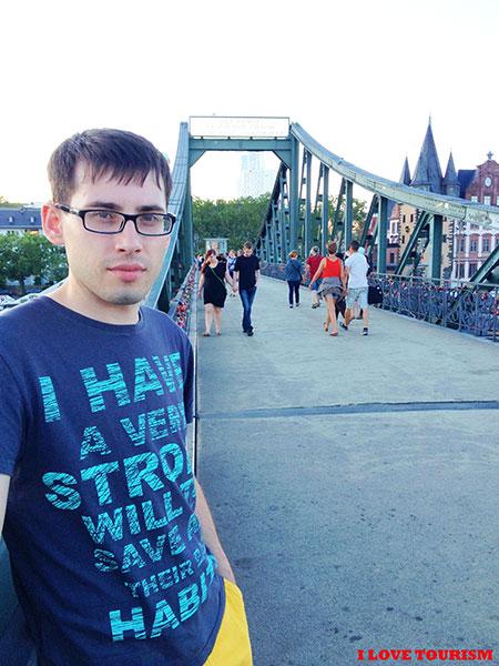 Франкфурт: старинный мост