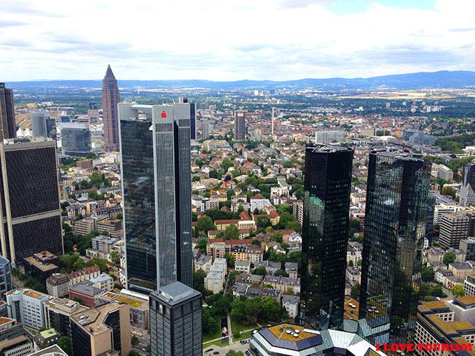 Франкфурт небоскребы