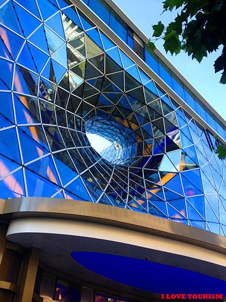 Торговый центр Франкфурта как произведение искусства