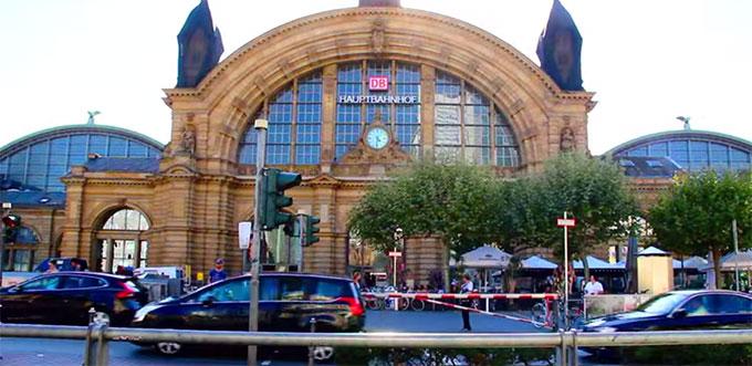 Вокзал Франкфурта
