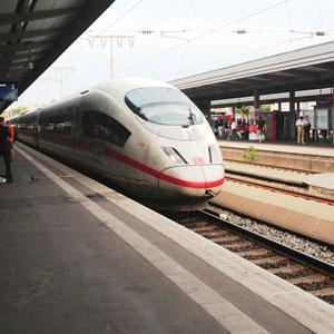 Железнодорожный транспорт Германии