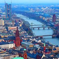 Франкфурт-на-Майне карта
