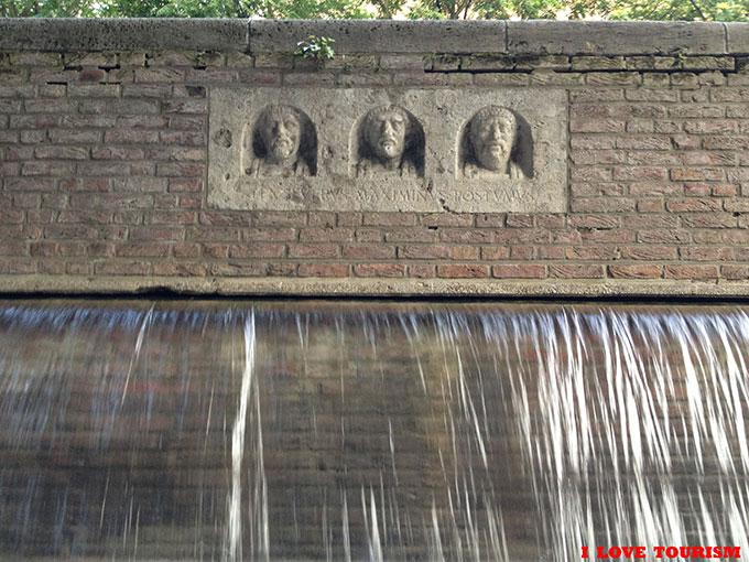 Кельн: Римский фонтан