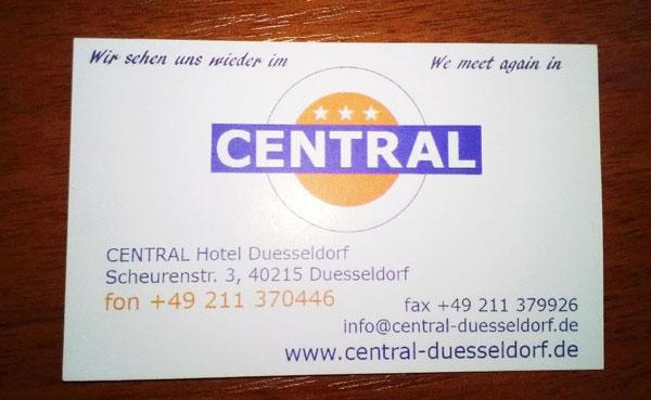 Отель Дюссельдорфа