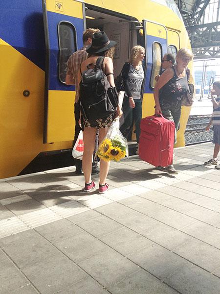 Поезд из Амстердама