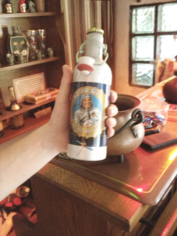 Памятная бутылка пива