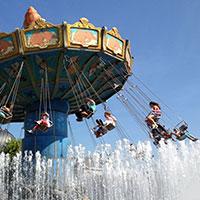Парк аттракционов в Германии Фантазияленд