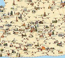 Карта калининграда с достопримечательностями подробно скачать