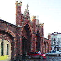 Достопримечатлеьности Калининграда: Бранденбургские ворота