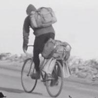 Книга о советском путешественнике-велосипедисте
