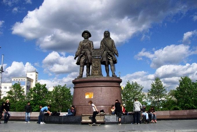 Памятник татищеву и де геннину екатеринбург памятники в екатеринбурге и их описание 2018